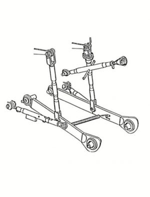 Complete 3-point linkage set