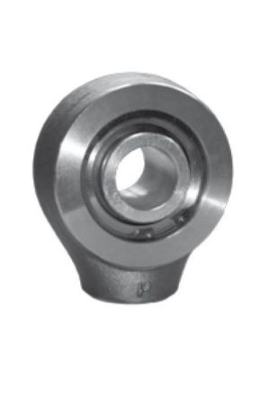 Ball joint terminal with round end to be welded